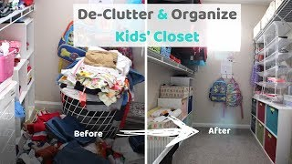 How to Declutter and Organize Kids Clothes