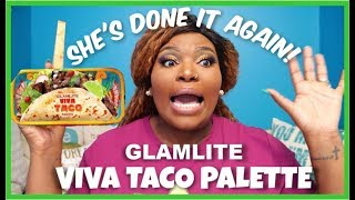GLAMLITE VIVA TACO PALETTE | SWATCHES, TUTORIAL & FIRST IMPRESSION