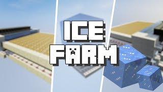 Minecraft: Ice Farm 1.14 [Tutorial]