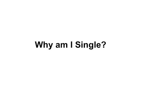 Single Be I Am To Meant