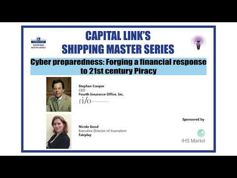 Cyber Preparedness: Forging a Financial Response to 21st Century Piracy with Stephen Cooper