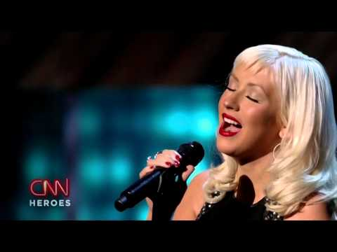 Christina Aguilera - Beautiful (Live at CNN Heroes, 2008)