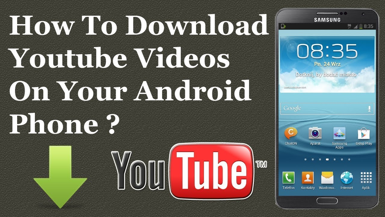 How to download YouTube video in any android phone - YouTube
