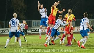 Znicz Pruszków - MKS Kluczbork 1:0, 4 listopada 2016, skrót meczu