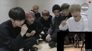 bts reacting to Lisa Dance Compilation