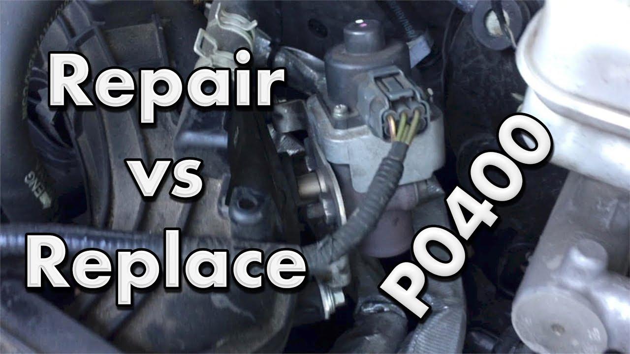 Ford Escape V 6 Egr Valve P0400 How To Youtube Engine Diagram Mazda 2003