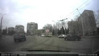 30 03 2016 г  Барнаул, Малахова Юрина Выезд с кольца