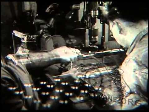 1937 C G  Conn Factory   RARE Pre WWII footage