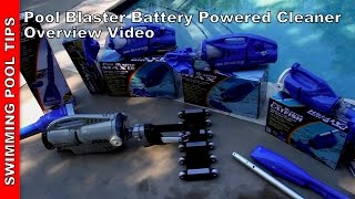 Pool Blaster Battery Powered Pool & Spa Vacs by Water Tech: Overview
