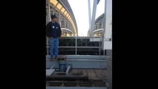Top of Dallas AT&T Stadium opening