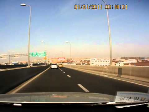 My daily ride, part I. 19 km from Shanghai downtown to Jiading. YanAn Highway, S20, Beidi Rd