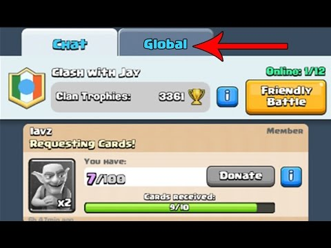 Chat Globale Su Clash Royale! !!!!!!!!!