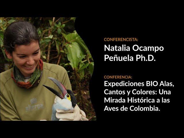 Charla magistral en Colombia BirdFair 2021