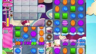 Candy Crush Saga Level 1227 with 6 moves left,  NO BOOSTERS!