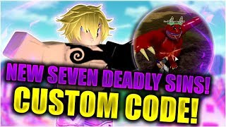 [EXCLUSIVE CODE] I got DEMONLISHED by DEMONS! | Seven Deadly Sins Retribution | Roblox