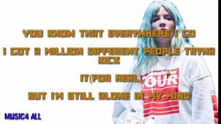Halsey  Alone Remix  Ft Stefflon Don