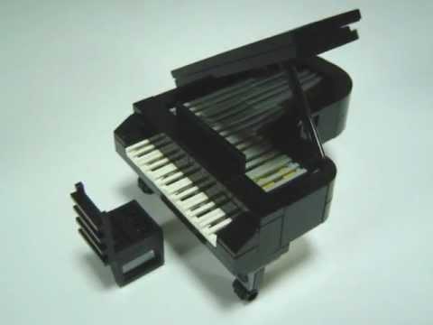 Lego Grand Piano Instructions - YouTube