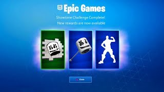 *NEW* FREE MARSHMELLO REWARDS in Fortnite! (Fortnite Showtime Event Rewards & Challenges!)