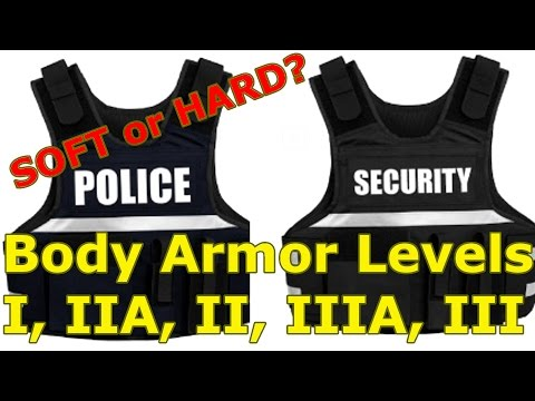 Body ARMOR For POLICE and Security: The Basics