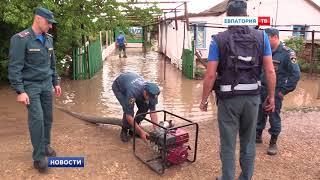 Штормовое предупреждение: сотрудники МЧС помогают справиться с непогодой