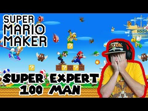 Captured Princess? No Problem! 100 Man Super Expert Mario Maker