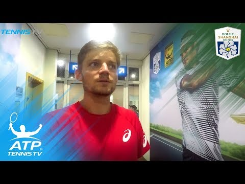 David Goffin takes us behind-the-scenes at Shanghai Rolex Masters 2017