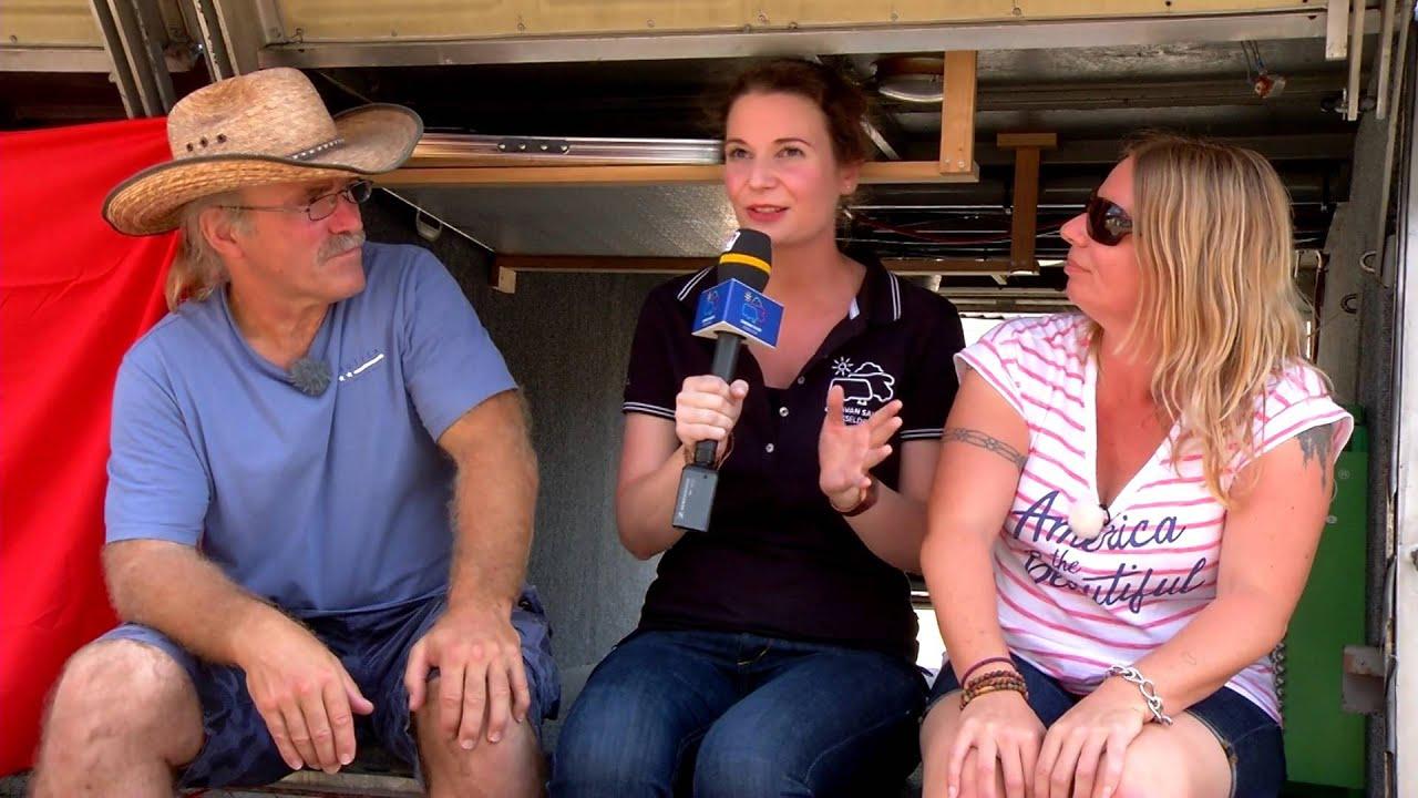 Die Reimanns auf dem CARAVAN SALON 2015!