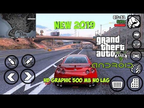 KOK ADA!!!Cara Download Dan Instal GTA San Andreas Mod 5 Di Android Suport OS Nougat&Oreo