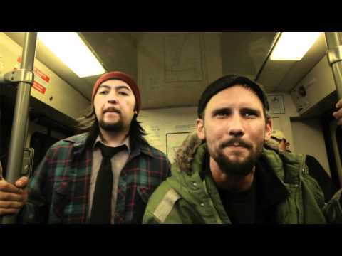 """Aaron Evans Feat. Generik """"We All Work"""" - A Trolley Show (live performance)"""