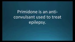 How to pronounce primidone (Mysoline) (Memorizing Pharmacology Video Flashcard)