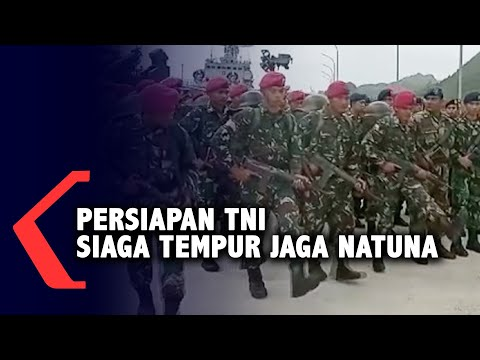 Detik-Detik TNI Bersiap Siaga Tempur Jaga Natuna dari China