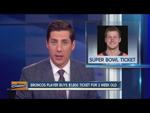 Britton Colquitt had to buy Super Bowl ticket for infant daughter