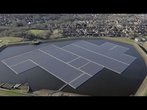 Forrest Completes Floating Solar Scheme at Godley Reservoir