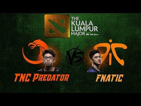 TNC Predator VS Fnatic |Bo3| The Kuala Lumpur Major Southeast Asia FINALS