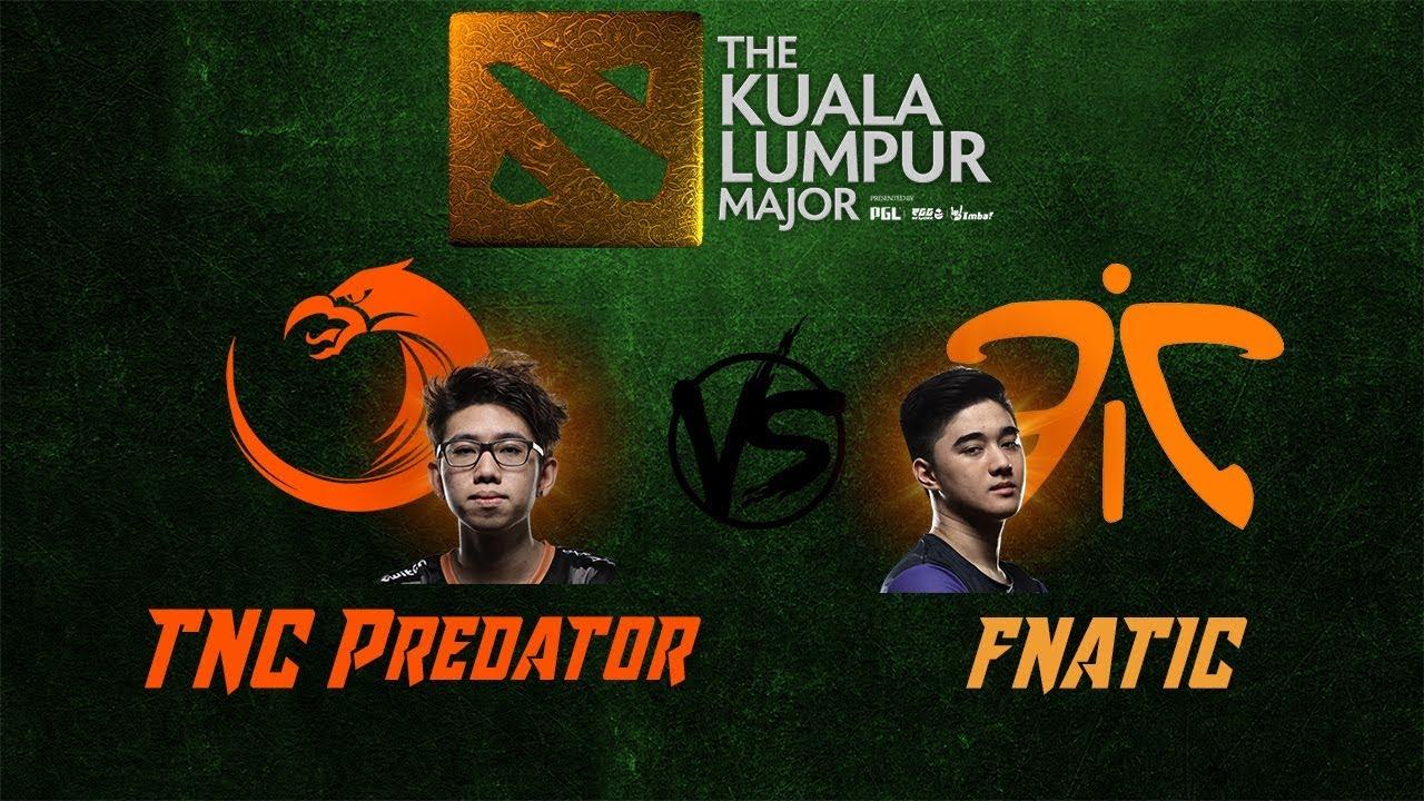 [DOTA 2 LIVE PH] TNC Predatoc VS Fnatic  Bo3  The Kuala Lumpur Major Southeast Asia FINALS
