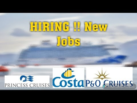 How To Get Cruise Jobs | Hiring Jobs In Cruise Ship | Career Opportunities|