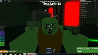 Roblox I Zombie Rush Ich choi Ban Zombie !?!?!?! I Vu