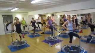 Aerofunk: Rebounding fitness class - Wednesday 21st May 2014 8pm YouTube Videos