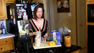 Belly Fat Be Gone Orange And Banana Smoothie With Getskinnywithjenny