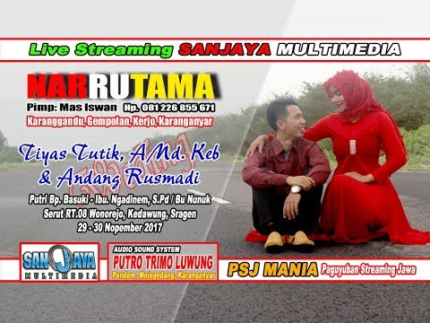 Live Streaming SANJAYA MULTIMEDIA//NARRUTAMA Campursari//PTL SOUND AUDIO//live Serut Wonorejo