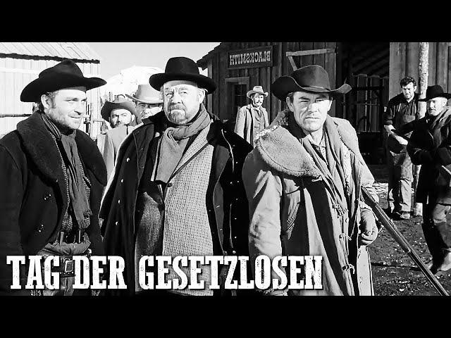 Tag der Gesetzlosen | Western Klassiker | Cowboys | Ganzer Spielfilm | Klassischer Western