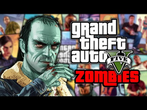 GTA 5 ZOMBIES - GROVE STREET (Part 2) ★ Call of Duty Zombies (Zombie Games)