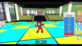 Dancia on the first video roblox of the channel