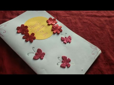 How To Make Handmade Birthday Card For Brother