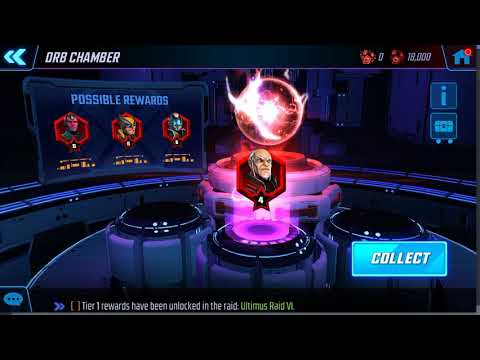 Marvel Strike Force - Red Star Orbs FINALLY...sigh