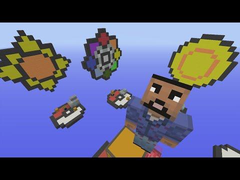 Minecraft Xbox - Pokemon Badges - SkyWars