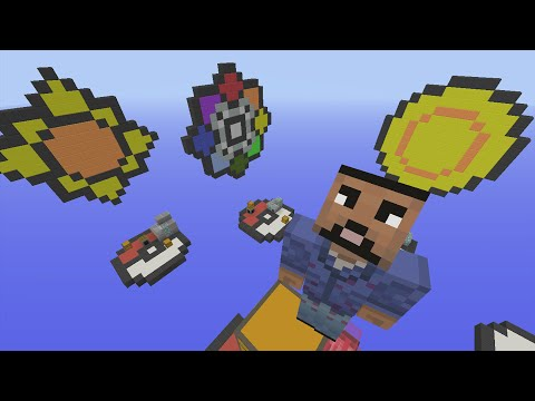 Minecraft Xbox - Pokemon Badges - SkyWars