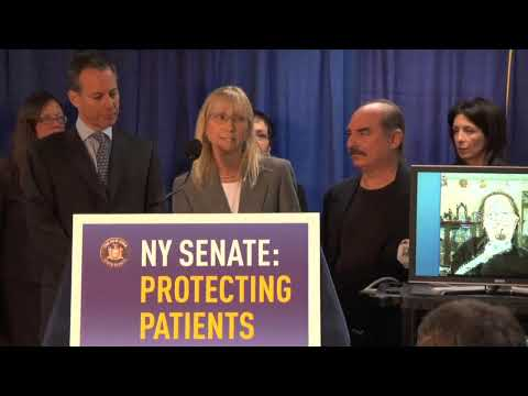 Senator Schneiderman Holds Press Conference on Ian's Law.  11.5.09