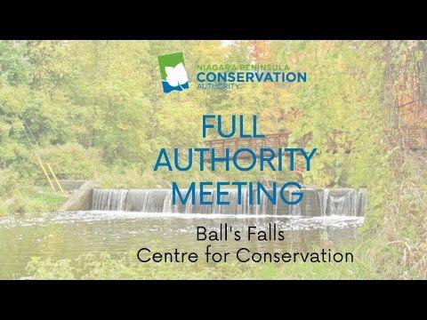 NPCA Full Authority Meeting - October 19th, 2016