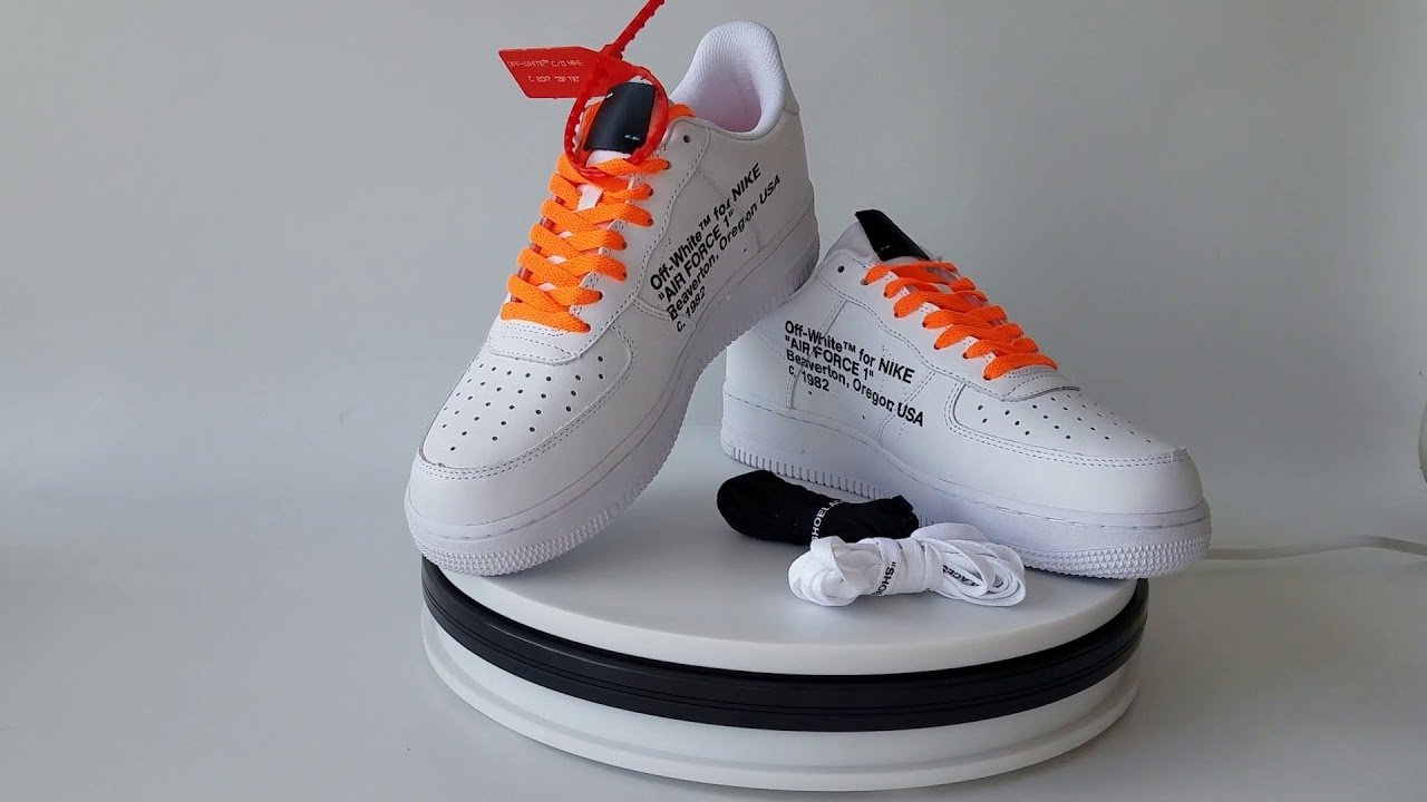 7c47704391252e UA Off White X Air Force 1